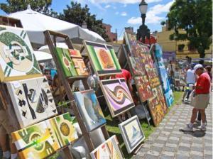 schilderijen zondasmarkt