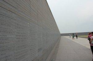 """monument met namen van de """"desaparecidos"""""""