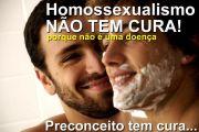 homoseksualiteit kan je niet genezen, want het is geen ziekte. Vooroordelen wel.