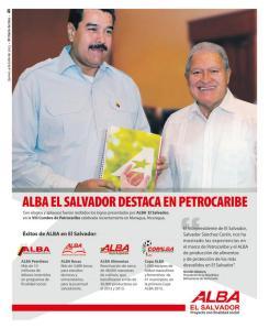 Maduro met Sánchez Cerén