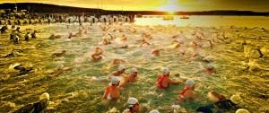 zwemmen bij Playa de Ereaga
