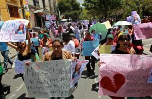 protest op internationale vrouwendag (EFE)
