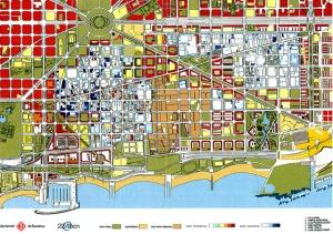 het gebied van de grootschalige stadsvernieuwing