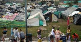 ontheemden in Bogotá