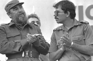Ortega met Castro