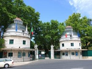 ingang dierentuin Lissabon