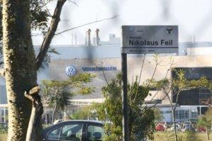 de fabriek in São José dos Pinhais bij Curitiba